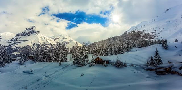 Descending, Mt Titlis, Engelberg, Switzerland
