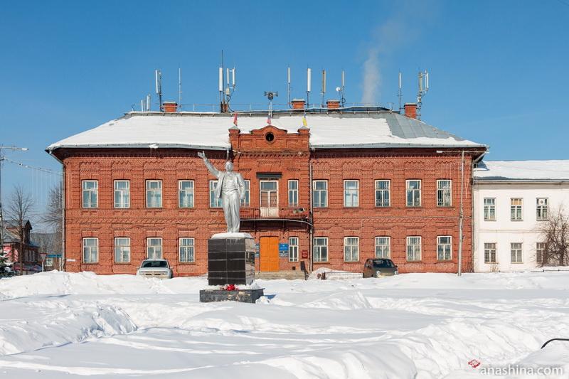 Здание администрации Солигаличского муниципального района и администрации городского поселения Солигалич
