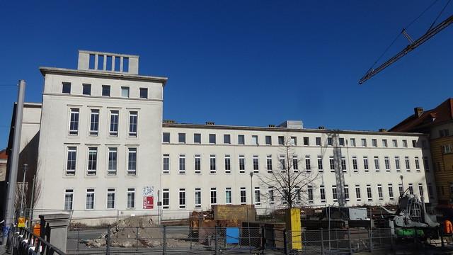 1957 Berlin-O. Gynäkologischer Pavillon und Geschwulstklinik der Charité Alexanderufer/Invalidenstraße 80/Schumannstraße 19-22 in 10117 Mitte