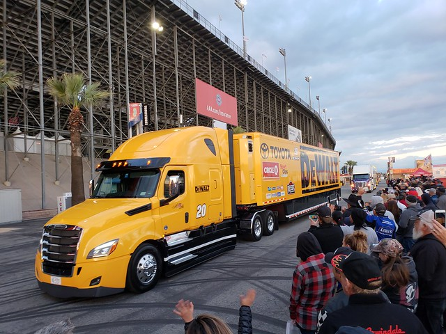 NASCAR Hauler Parade at Auto Club Speedway, March 15, 2018