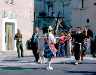Guardia Sanframondi (BN), 1975, Riti settennali di Penitenza in onore dell'Assunta.