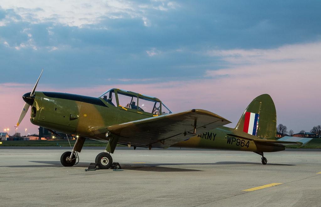 EGWU - de Havilland DHC-1 Chipmunk T10 - G-HDAE / WP964