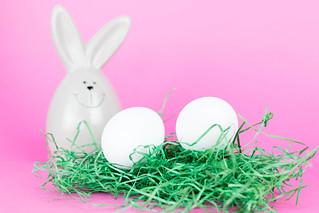Two white eggs   by wuestenigel