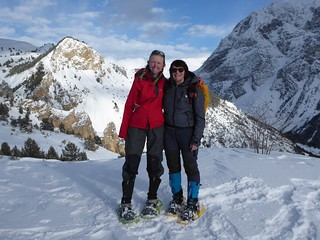 Me and Steffi, at l'Alp du Pied - a smashing end to a great week | by Mary Loosemore