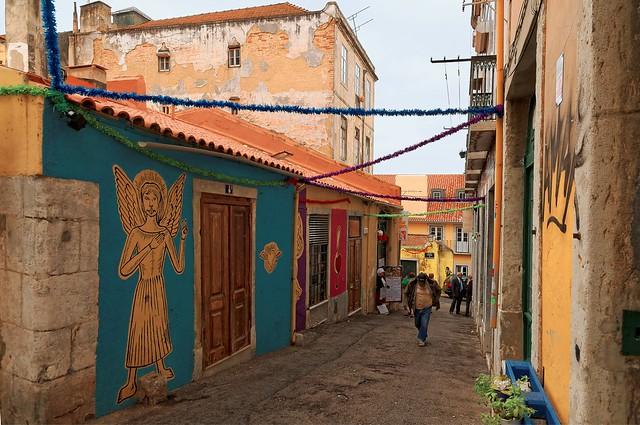 Lisbon : Travessa do Almargem