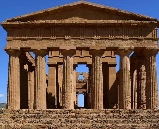 Tempio della Concordia, Valle dei Templi, Agrigento, Sicily, April  2018 125