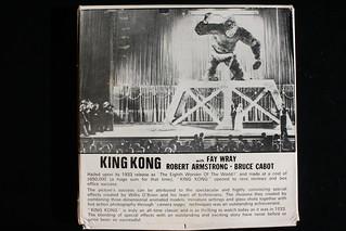 King Kong Super 8mm Film Box Back ( Mountain Films )