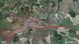 Route to Cravinhos Park Hotel (right and wrong) | by EyeCycled