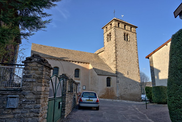 12th century Romanesque bell tower