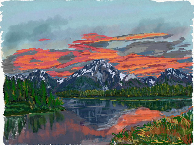 My Travels - Grand Teton National Park Oxbow Bend