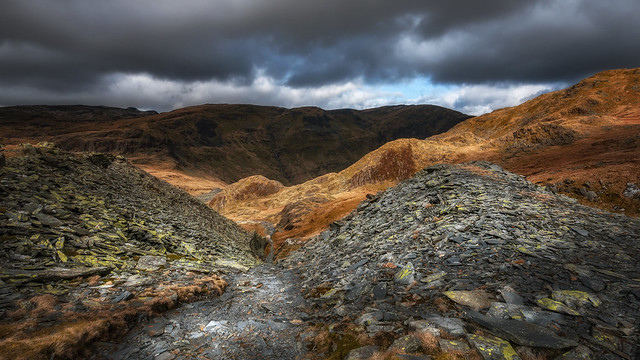 The Quarry...Rhosydd. North Wales.