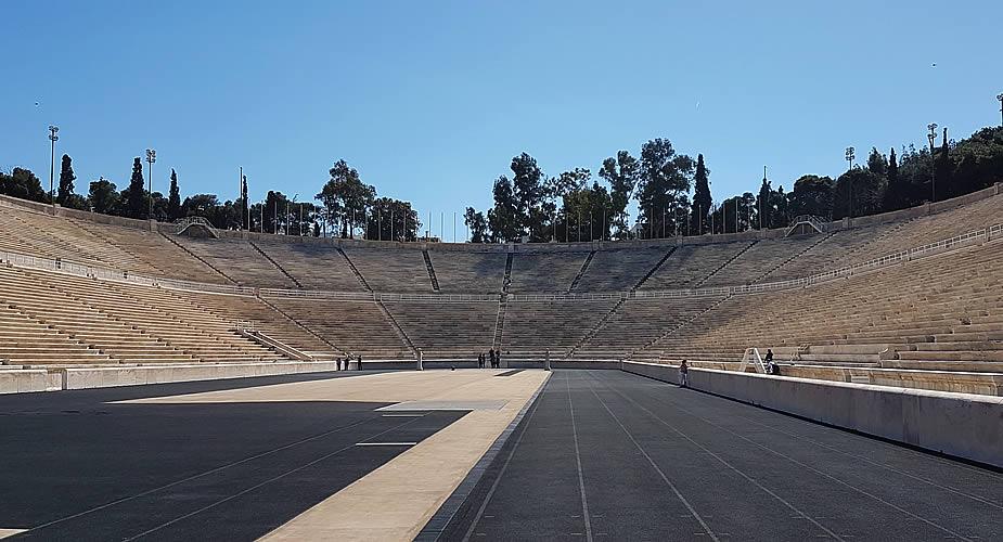 Bezienswaardigheden Athene: Olympisch Stadion