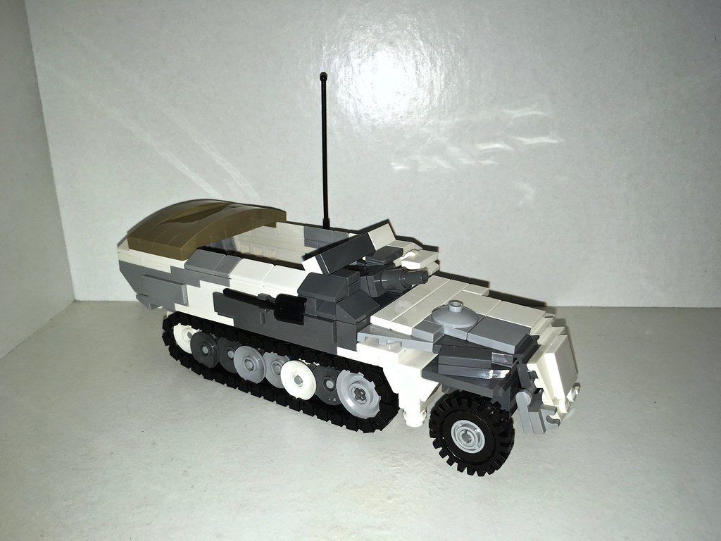 Sdkfz 2519 Stummel This Build Took Much Longer To Compl Flickr
