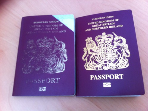 Passport, old and new | by Mary Loosemore