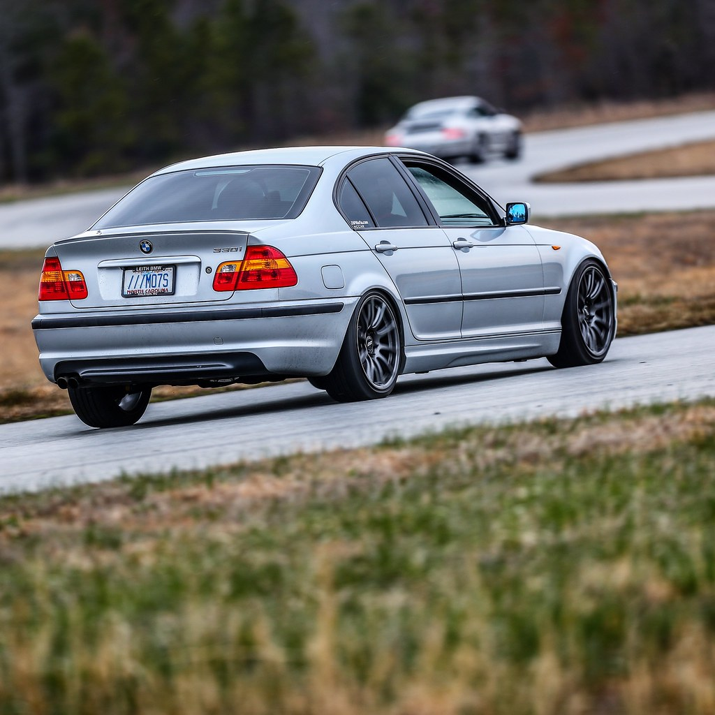 James S E46 Sedan With 18 Sm 10 Wheels In Anthracite Flickr