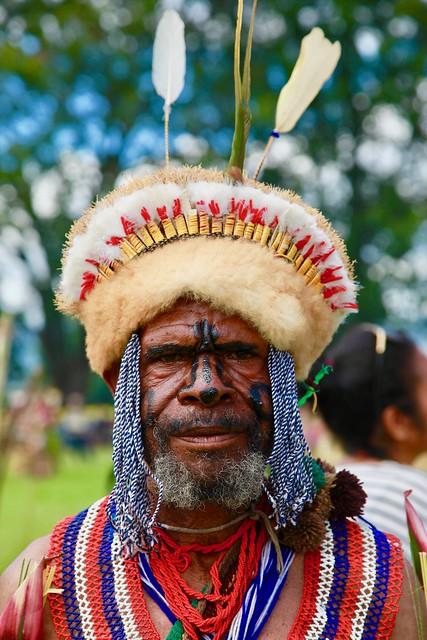 Portrait / Goroka show