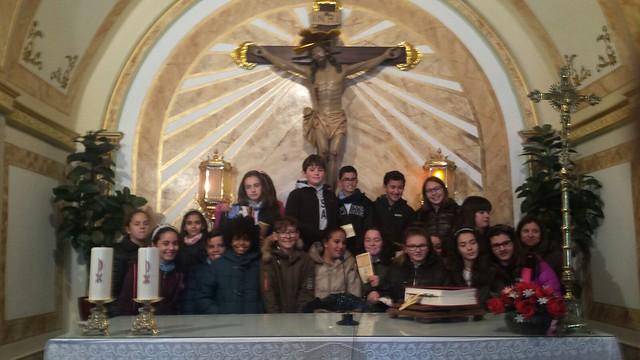 (2018-03-19) - Visita ermita alumnos Yolanda,6º, profesora religión Virrey Poveda - Marzo -  María Isabel Berenguer Brotons - (03)