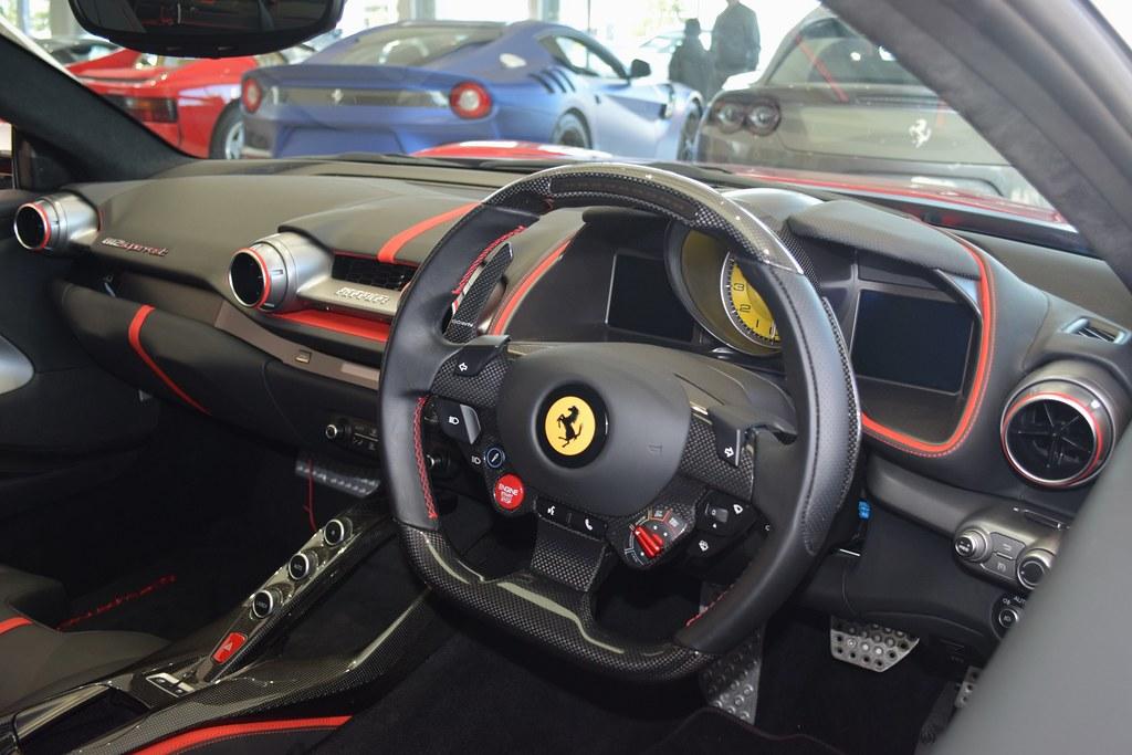 Ferrari 812 Superfast Interior Jaimie Wilson Flickr