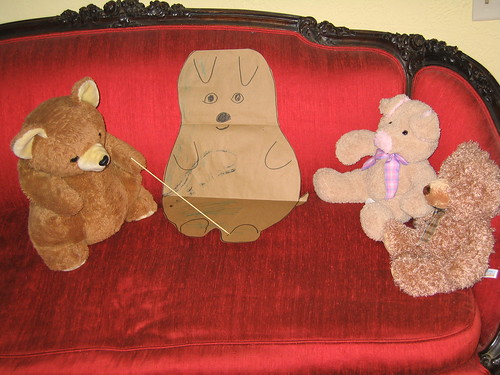 The danger of house pets for teddy bears