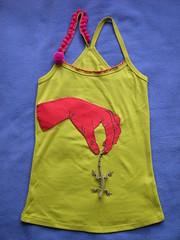 T-shirt lagartixa