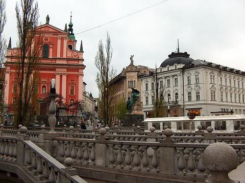 Church of the Annunciation & Triple Bridge
