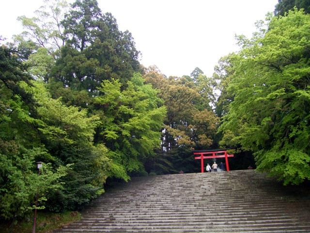 Shrine(Kirishima jingu).