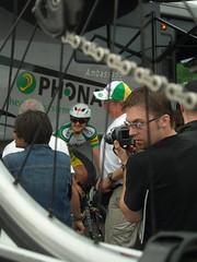 Landis preps for TdG TT