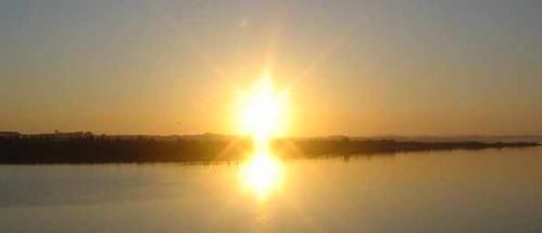 primeiro sol da manhã