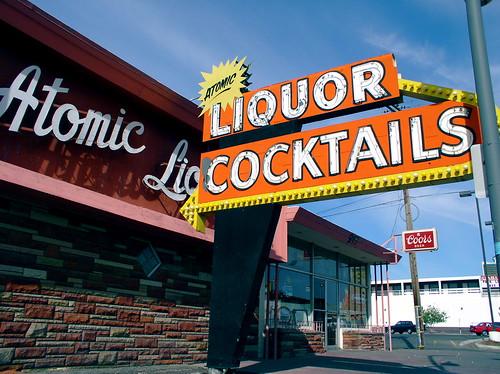 Atomic Liquors on Fremont Street, Las Vegas.