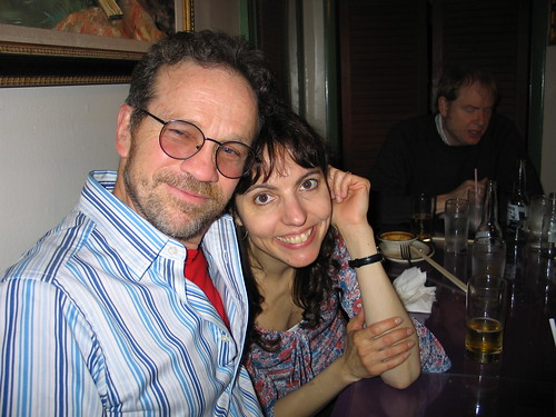After Gig Dinner: Bud and Helen Avakian