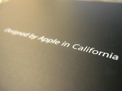 Apple in Calfornia