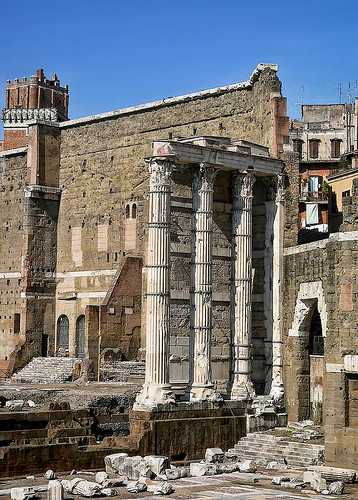 Forum of Augustus in Rome, Italy | by mharrsch