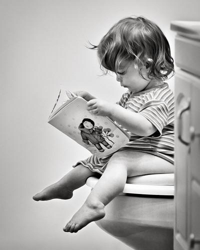 Bathroom reading | by thejbird