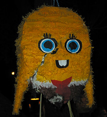 sponge bob the piñata | by Tanya R.