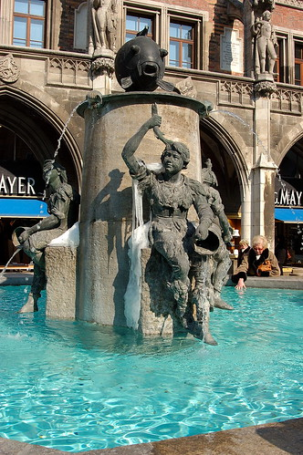 Fountain in München
