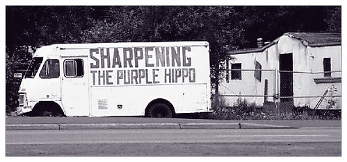 Sharpening The Purple Hippo?
