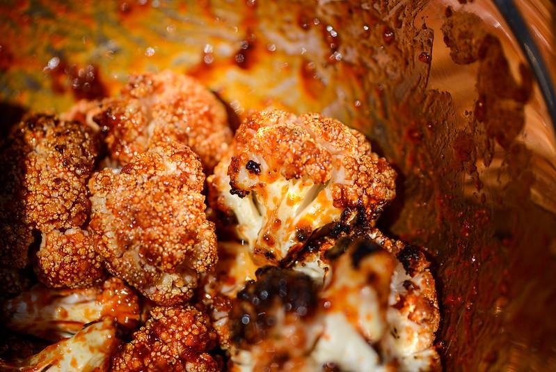 Grilled Korean Cauliflower
