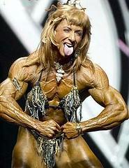 uzhast - Scary woment of bodybuilding