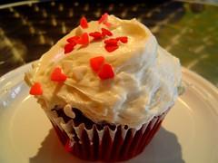 sexy red velvet cupcake