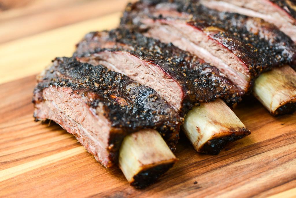 Salt and Pepper Beef Back Ribs