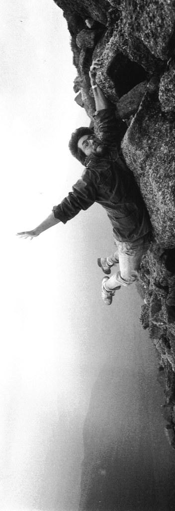 On the edge...