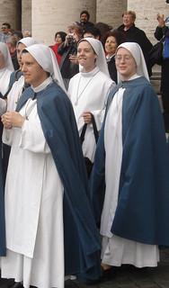 Hermana Clare de novicia