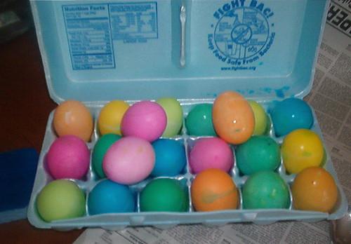 Easter Eggs - 3/27/05