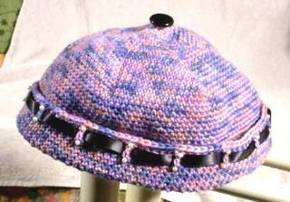 SAFF Variegated Yarn Cap