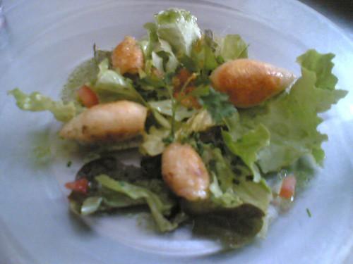 Calamars farcis aux légumes