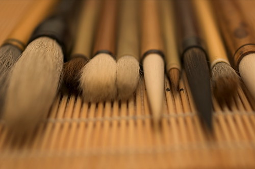 shodo brushes | by petitshoo