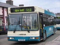 Bws 550 Aberystwyth - Cei Newydd