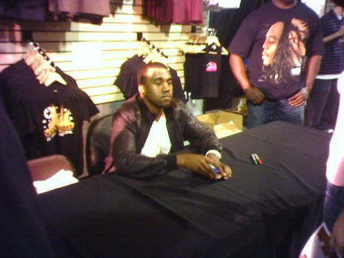 Kanye West Visit