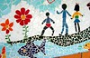 Mosaico de Eduardo Machado in Olhares
