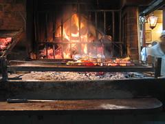 Grill in the Mercado Publica